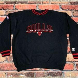 Vintage Chicago Bulls Starter Crewneck Size XL